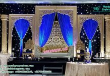 Grand Wedding Event Stage Decor
