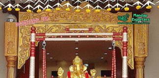 Indian Wedding Stage Ganesha Entrance Theme