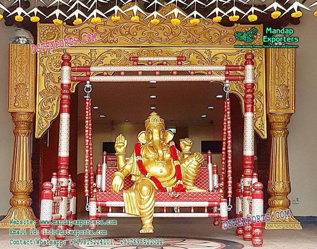 Indian Wedding Stage Ganesha Entrance Theme