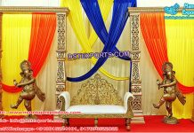 Wedding Event Dancing Ganesha Decoration