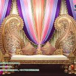 Low Back Sangeet Stage Sofa