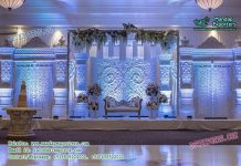 Majestic English Wedding Stage Decoration