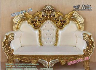 Modish Wedding Stage Love Seater
