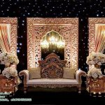 Muslim Walima Backdrop Stage Panels