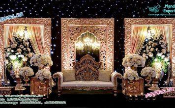 Muslim Walima Backdrop Stage Panels