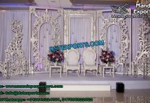 Exotic Wedding Back Wall Panels