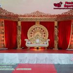 Precious Look Maharaja Wedding Stage