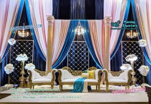 Prominent Designed Wedding Stage Decoration copy