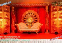 Rajwada Style Wedding Stage Decoration