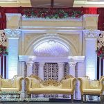 Stunning Canadian Wedding Stage Decoration