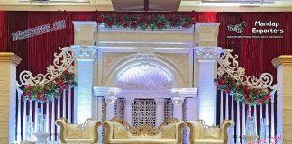 Stunning Canadian Wedding Stage Decoration