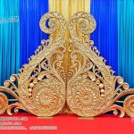 Stylish Wedding Backdrop Paisleys Panels