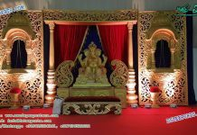 Traditional Wedding Event Stage Decoration