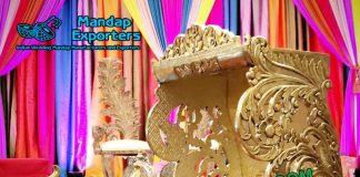 Shahi Wedding Doli for Bride Entry
