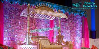 Wedding Mehandi Stage Swing with Hood