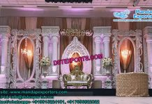 Grand Asian Wedding Stage Set