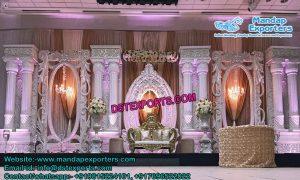 Grand Asian Wedding Stage Set