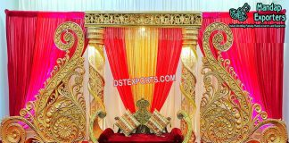 Fiber Paisley Props Wedding Decoration