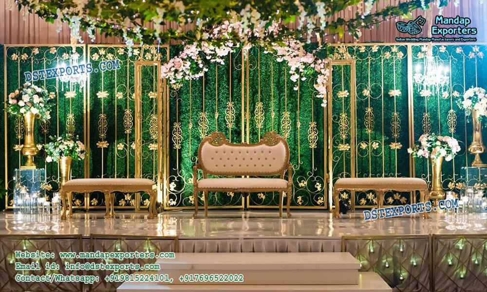 Wedding Stage Backdrop Panel Decoration