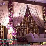 Elegant Candle Back-wall Stage Decoration