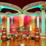 Impressive Diamond Cut Wedding Mandap