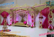 Srilankan Wooden Wedding Mandap/Stage
