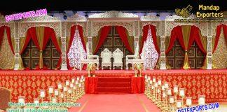 luxurious Maharaja Wedding Stage