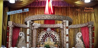 Designer Hindu Wedding Mandap Set