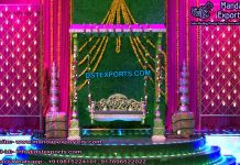 Wedding Mehandi Stage Decoration Props