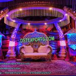 Indian Tusk Pillar Marriage Mandap