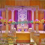 Glamorous South Indian Wedding Mandap