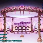 Indian Wedding Rajasthani Wooden Mandap