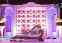 Alluring Muslim Walima Stage Set