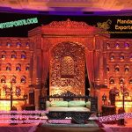 An Astonished Stage Decoration For Wedding