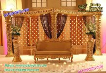 Asian Wedding Magnificent Stage Setup