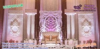Best Asian Wedding Backdrop Stage Decoration
