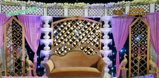 Best Marriage Event Reception Glorious Stage Decoration For Sale