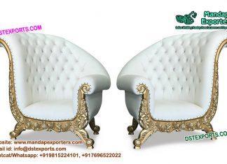 Bride and Groom Wedding Sofa Chairs