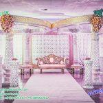 Dazzling Wedding Reception Mandap Decoration