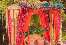 Double Pole Swing for Out Door Wedding