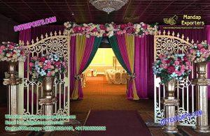 Elegant Wedding Entrance Decoration