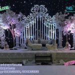 Grandiose Asian Wedding Stage Set