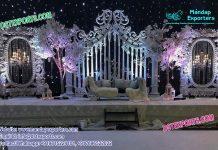 Grandiose Asian Wedding Stage Set