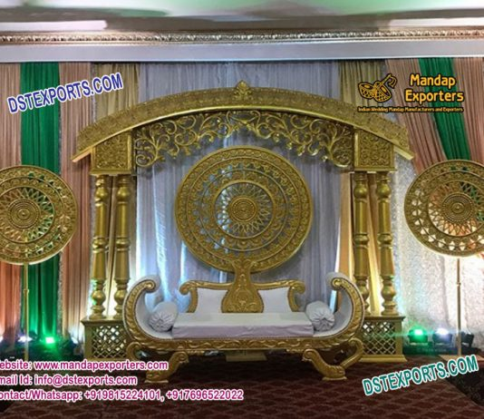 Indian Wedding Glorious Stage Decoration