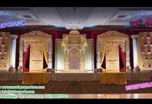 Indian Wedding Luxurious Stage Setup