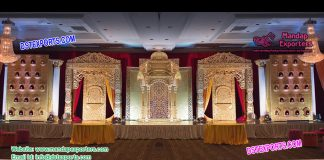 Indian Wedding Luxurious Stage Setup