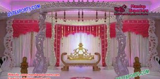 Indian Wedding Magnificent Peacock Mandap