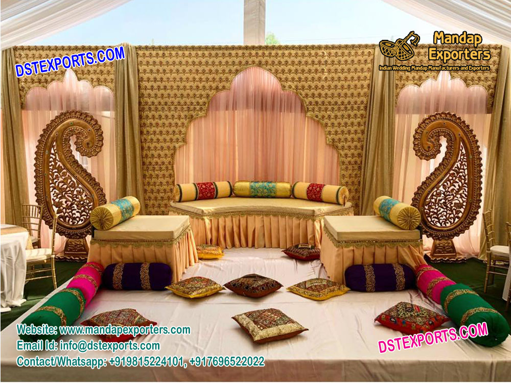 Wedding Stage Backdrop For An Occasion Decoration Produced By Dstexports