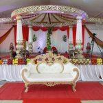 Indian Wedding Fiber Lotus Mandap