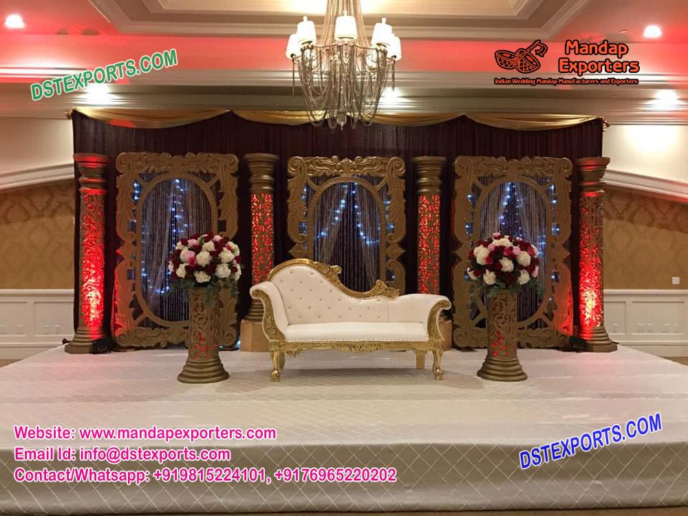 Luxurious Indian Wedding Stage Decoration